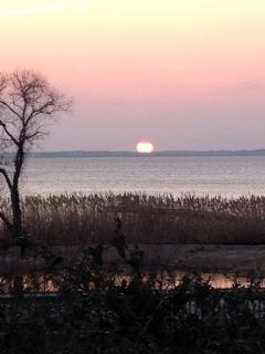 ...and gorgeous sunsets over the Currituck Sound!