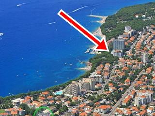 APP2+2, 20 m from the beach, Makarska