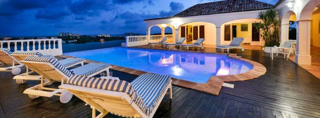 SPECIAL OFFER: St. Martin Villa 285 Exceptional Views Of Simpson Bay, The Sparkling Caribbean Sea And The Islands Of Saba, St Eustatius And St. Kitts., Terres Basses