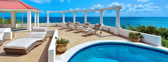SPECIAL OFFER: St. Martin Villa 313 A Brand New Villa Offers Spectacular Ocean Views And A Charming Gazebo With Views Of Baie Rouge Beach.., Terres Basses