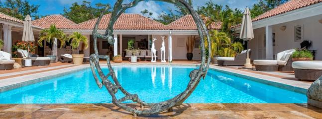 SPECIAL OFFER: St. Martin Villa 68 The Wide Open Design Of This Spacious Four Bedroom Villa Is In Complete Harmony With Its Natural Setting., Terres Basses