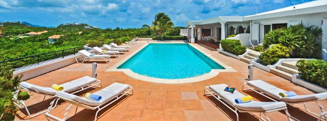 SPECIAL OFFER: St. Martin Villa 70 The Special Location Provides Unforgettable Views Of The Sky, The Sea, The Swimming Pool And The Scenery Of The Mountains., Terres Basses