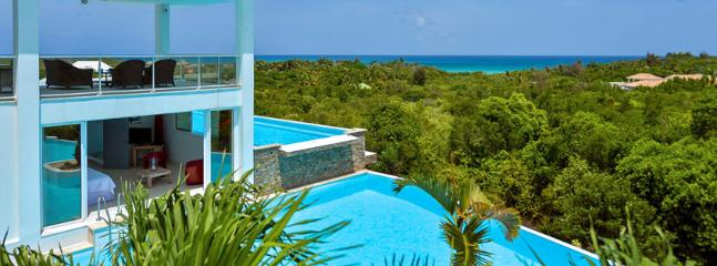 Villa Grand Bleu SPECIAL OFFER: St. Martin Villa 71 Superb Tropical Surroundings And Within 10 Minutes Walking Distance To Beautiful And Secluded Plum Bay Beach., Terres Basses