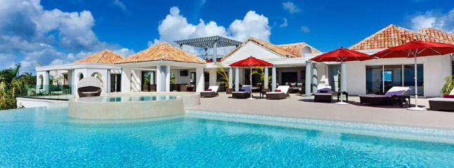 Villa Just In Paradise SPECIAL OFFER: St. Martin Villa 76 A Brand New 3 Bedroom Villa In The Gated Terres-Basses Community Offering Sweeping Views From La Samanna., Terres Basses