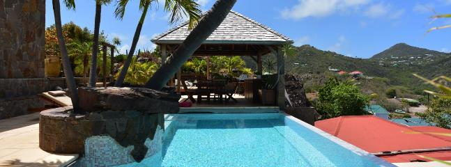 Casa Blanca SPECIAL OFFER: St. Barths Villa 47 This Beautiful House Is Literally Overhanging Grand Cul-de-Sac Lagoon.