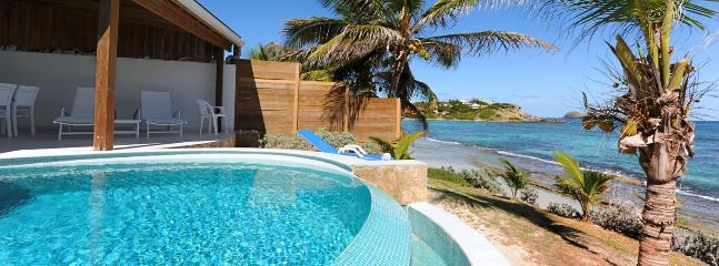 St. Barths Villa 27 A Beach Vacation Rental Situated On The Beach Of Anse Des Cayes, Anse des Cayes