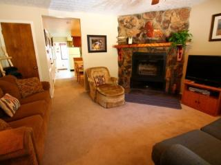 Valley Condos #116 - King Bed, WiFi, Washer/Dryer, Community Hot Tubs, Playground, Creek, Red River