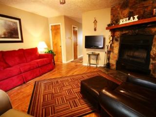 Valley Condos #122 - WiFi, Fireplace-Wood, Washer/Dryer, Community Hot Tubs, Playground, Creek, Red River