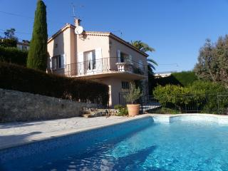 Charming villa 2 bedrooms private pool sea view, Théoule-sur-Mer