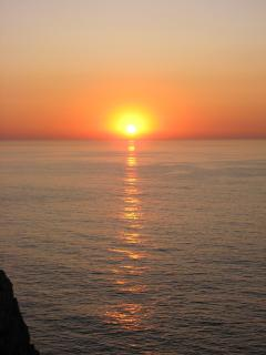 Sunset from Cabo Sao Vicente, Sagres.