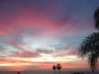 Beautiful Catalina Sunsets, Laguna Beach