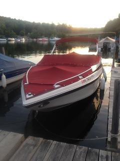 Convenient boat slip for boats to 24', 200' from the front door, at only $10/day