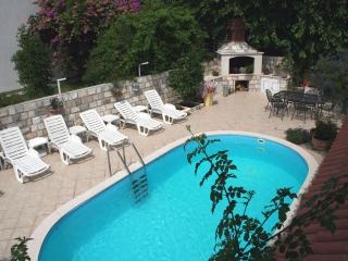 Villa Leona 1A, 10 m from the sea with pool, Zaton