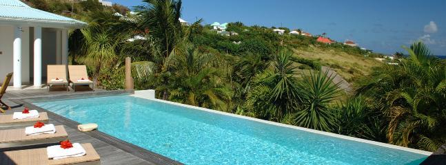 SPECIAL OFFER: St. Barths Villa 145 Overlooks The Bay And The Lagoon Of Grand Cul De Sac., Grand Cul-de-Sac