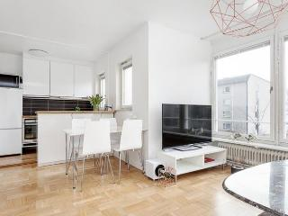 Well-planned home with large windows, Stockholm