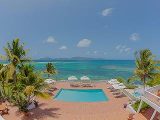 Exquisite, gated beachfront villa- this is a preferred celebrity hideaway. RIC PAR, Anguilla