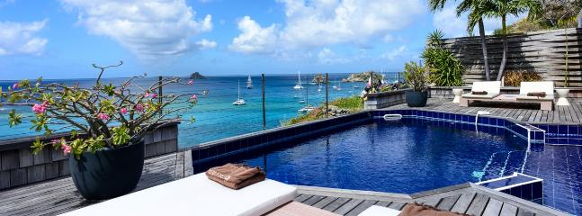 Villa Sky Vista SPECIAL OFFER: St. Barths Villa 132 Located On A Cliff On The Heights Of Gustavia.