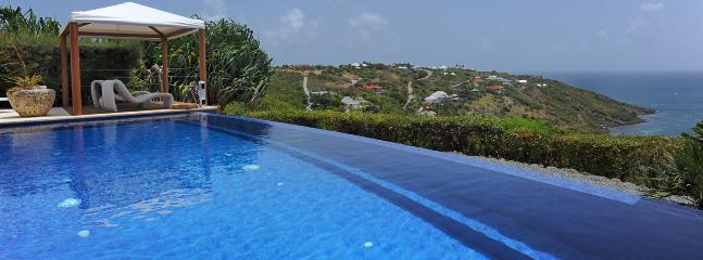 Villa Bel Ombre SPECIAL OFFER: St. Barths Villa 143 At Street-level, The Villa Is Overlooking The Ocean, Marigot Bay And Tortue Island.