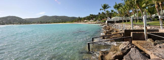 SPECIAL OFFER: St. Barths Villa 136 Ideally Located At The End Of The Greatly Prized Saint Jean Beach In St Barth., St. Jean
