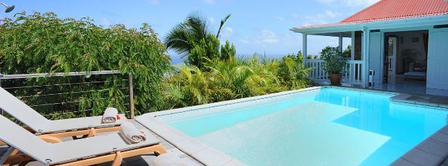 SPECIAL OFFER: St. Barths Villa 140 The Villa Is Located On Vitet Hillside In Saint Barthelemy., San Bartolomé