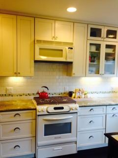 High End Appliances and well equipped Kitchen