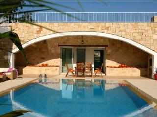 Secluded villa, private pool, mountain views, Miliou