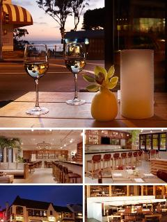 The cottage house is one block from restaurant row on the PCH.  World class fine dining.