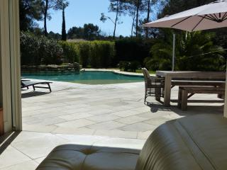 Villa with infinity pool near Cannes, Roquefort les Pins