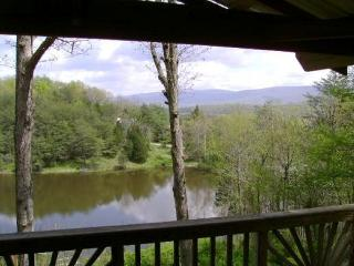 Log Cabin on Idyllic Pond & Perfect Location!, Luray