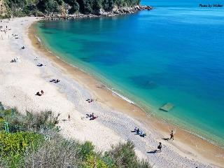 100 m2 flat with privat garden, 600 mt form sea, San Terenzo