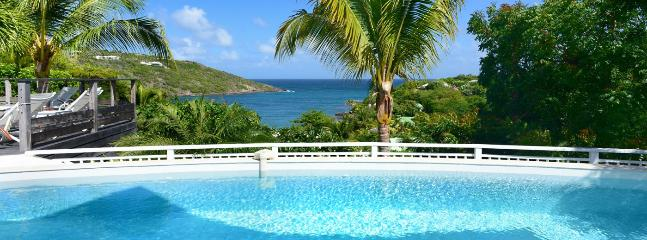 SPECIAL OFFER: St. Barths Villa 155 Offers An Outstanding View On Marigot Bay And The Ocean.