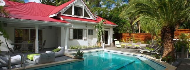 SPECIAL OFFER: St. Barths Villa 157 Within Walking Distance To The Beach Has A Large Garden And A Sea View., St. Barthelemy