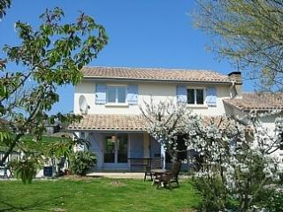 Lovely spacious country house with large pool, Labretonie