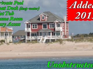 Bay Court 100   Private Pool, Hot Tub, Game Room, Deep Water Boat Dock, almost Oceanfront, Sneads Ferry