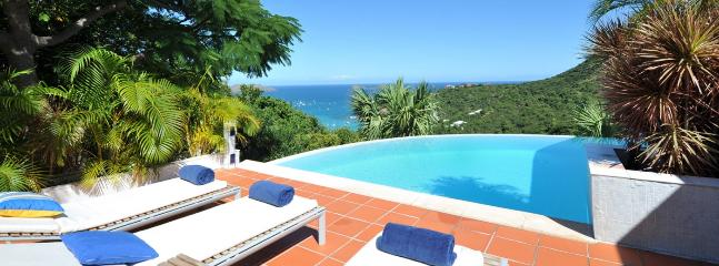SPECIAL OFFER: St. Barths Villa 166 Enjoy The Luxury Of This Very Private Villa With A Breathtaking View Of The Ocean Beyond., St. Jean
