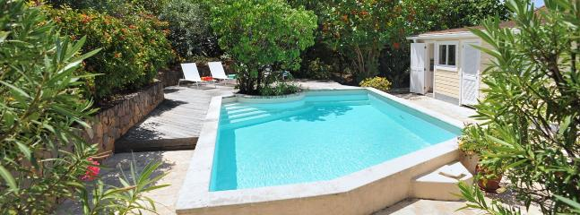 SPECIAL OFFER: St. Barths Villa 169 Surrounded By A Large Garden, With An Ocean View Toward The Sunset., San Bartolomé