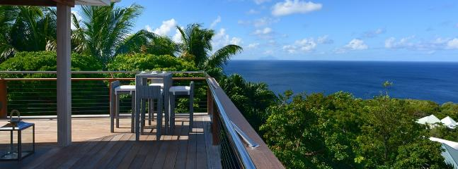 AVAILABLE CHRISTMAS & NEW YEARS: St. Barths Villa 186 One Of The Best Locations, Being Central, At Two Minutes Of Gouverneur Beach.