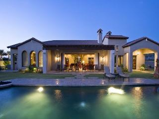 Music Festival Retreat in La Quinta with Private Pool, Tennis & Volleyball Court, & Mountain Views