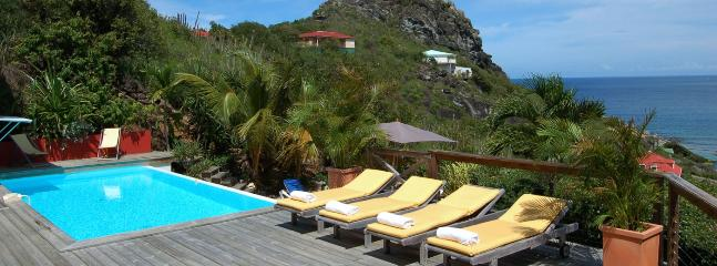 SPECIAL OFFER: St. Barths Villa 174 Has An Ocean View On The Entire Bay And Most Of The Island., Anse des Cayes