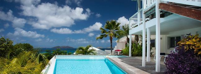 SPECIAL OFFER: St. Barths Villa 172 Has A Very Nice View On The Ocean And A Large Part Of The Hills In Lorient., São Bartolomeu