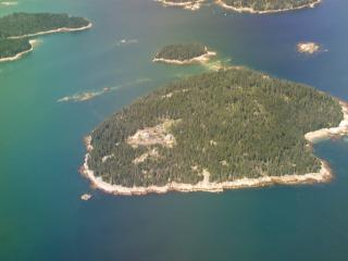 The only house on a private island, Stonington