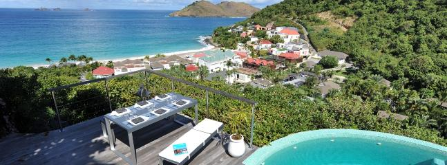 Roc Flamands 11 SPECIAL OFFER: St. Barths Villa 180 The Villa Has A Spectacular Ocean View On Flamands Beach., San Bartolomé