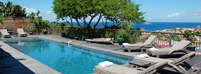 SPECIAL OFFER: St. Barths Villa 184 One Of The Best Views Of Gustavia Harbour.