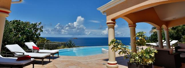SPECIAL OFFER: St. Barths Villa 183 Located On Montjean Hillside., Marigot