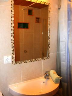 Very nice bathrooms both finished to a high quality