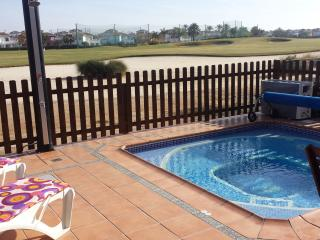 Mar Menor Golf Townhouse With Private Heated Pool, Murcia