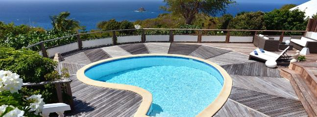 SPECIAL OFFER: St. Barths Villa 189 One Of The Nicest Sunset Views Of The Island., Anse des Flamands