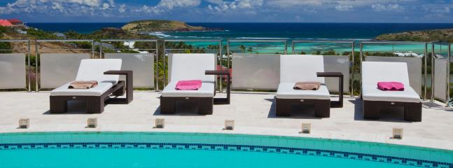 Villa La Rose Des Vents SPECIAL OFFER: St. Barths Villa 212 Only Two Minutes From The Lagoon Of Grand Cul De Sac., Grand Cul-de-Sac