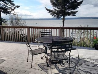 WARM BEACH WATERFRONT on PUGET SOUND, Camano Island