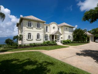 Spectacular West Coast views form this coral stone home- 10 minute drive from the beach. RL GIN, Saint Lucy Parish